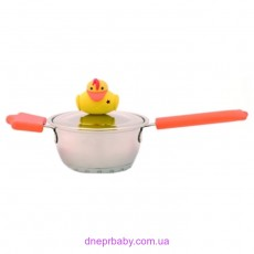 Ковшик Sheriff Duck с крышкой, диам. 12 см, 0,75 л (Berghoff)