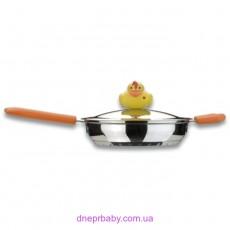 Сковорода Sheriff Duck с крышкой, диам. 18 см, 1 л (Berghoff)