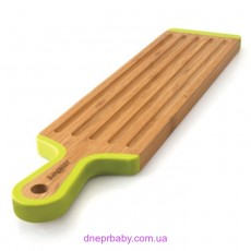 Доска для нарезания длинная, бамбуковая, 43 х 10 см (Berghoff)