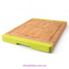 Доска для нарезания, бамбуковая, 38 х 28 см (Berghoff)