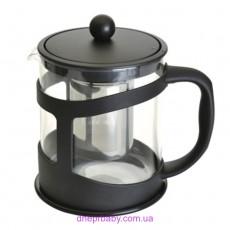 Чайник заварочный для чая, стеклянный, 1 л (Berghoff)