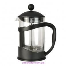 Френч-пресс для кофе/чая, стеклянный, 800 мл (Berghoff)