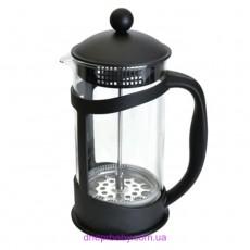 Френч-пресс для кофе/чая, стеклянный, 1 л (Berghoff)