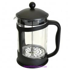 Френч-пресс для кофе/чая, стеклянный, 1,5 л (Berghoff)