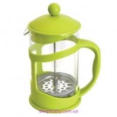 Френч-пресс для кофе/чая, стекл., в подставке, 800 мл (Berghoff)