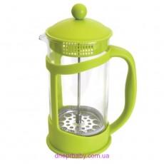Френч-пресс для кофе/чая, стекл., в подставке, 1 л (Berghoff)