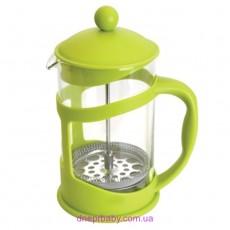 Френч-пресс для кофе/чая, стекл., в подставке, 1,5 л (Berghoff)