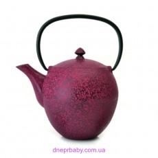 Чайник заварочный чугунный, темно-красный, 1,1 л (Berghoff)
