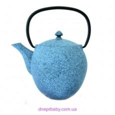 Чайник заварочный чугунный, синий, 1,1 л (Berghoff)