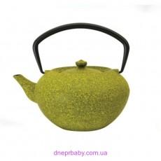 Чайник заварочный чугунный, лаймовый, 1,3 л (Berghoff)