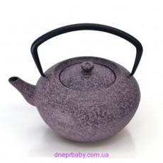 Чайник заварочный чугунный, фиолетовый, 1,3 л (Berghoff)