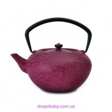 Чайник заварочный чугунный, темно-красный, 1,3 л (Berghoff)