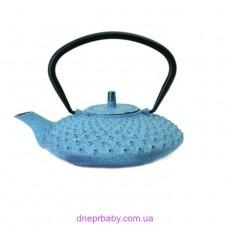 Чайник заварочный чугунный, синий, 800 мл (Berghoff)