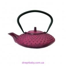 Чайник заварочный чугунный,  темно-красный, 800 мл (Berghoff)