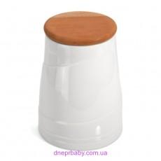 Емкость для сыпучих продуктов Hotel, фарфоровая (Berghoff)
