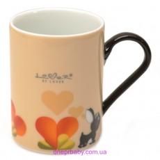 Кофейная кружка Lover by Lover желтая,  300 мл,  (2 шт.) (Berghoff)