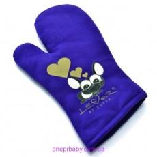 Рукавичка кухонная Lover By Lover, фиолетовая (Berghoff)