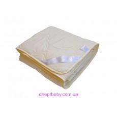 Одеяло 175*210 Комфорт молочное (Идея)