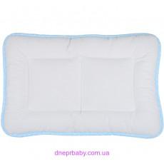Подушка Baby 40*60 Сатин Горох голубая (Идея)