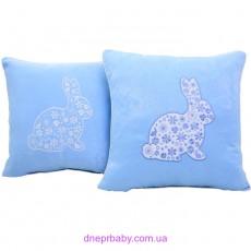 Подушка декоративная 47*47 Пасхальный заяц (Идея)