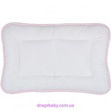 Подушка Baby Сатин 40*60 горох розовый (Идея)