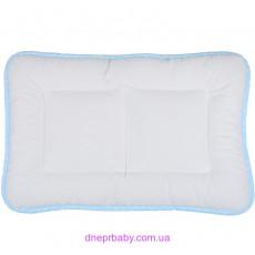 Подушка Baby Сатин 40*60 горох голубая (Идея)
