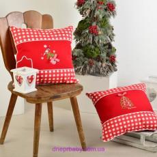 Подушка декоративная 45*45 Новогодняя (Идея)