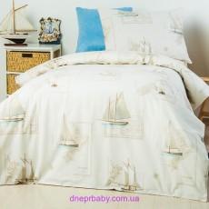 Детский постельный комплект Корабли (Идея)