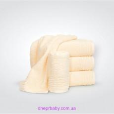 Полотенце Софт 70*140 ваниль (Идея)