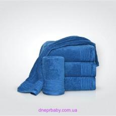 Полотенце Софт 70*140 синий пепел (Идея)