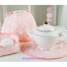 Грелка для чайника персик (Идея)