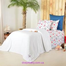 Набор Гармония Морячок: Комплект постельного и плед (Идея)