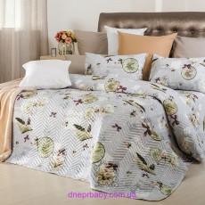 Набор Ретро Часы: летнее одеяло и постельное белье (Идея)