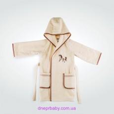 Махровый детский халат Пони (Идея)