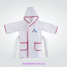 Махровый детский халат Морской котик (Идея)
