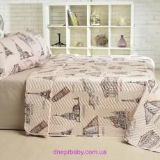 Набор Ретро Париж: летнее одеяло и постельное белье (Идея)
