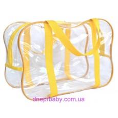 Прозрачная сумка в роддом (DneprBaby)