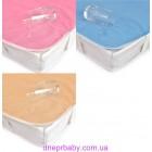 Наматрасник непромокаемый AQUA STOP для детской кроватки 60*120